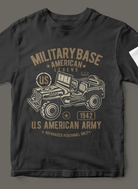 American Army Jeep 2express magliette personalizzate e felpe personalizzate